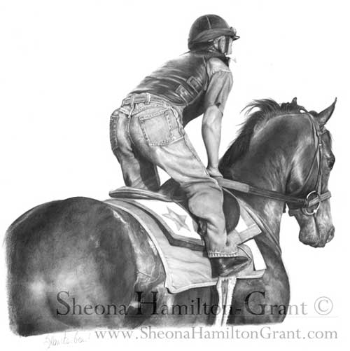 """Racing Ready"" by Sheona Hamilton-Grant"